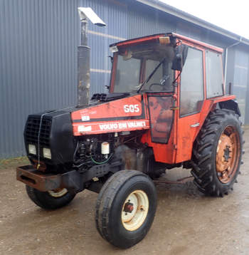 salg af Valmet 605 traktor