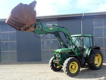 salg af John Deere 6200 traktor
