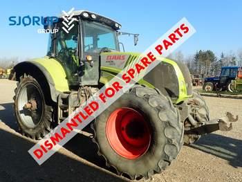 salg af Claas Axion 850 traktor