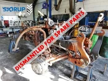 salg af Case Maxxum 150 traktor