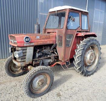 salg af Massey Ferguson 165 traktor