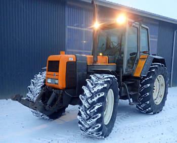 salg af Renault 180-94 traktor