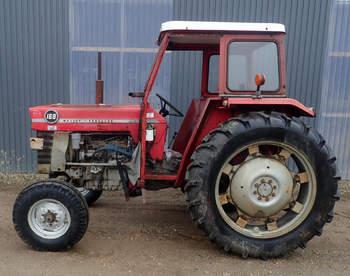 salg af Massey Ferguson 168 traktor