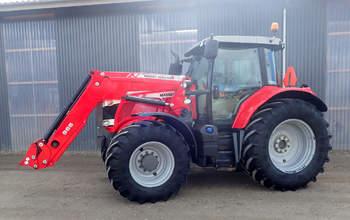 salg af Massey Ferguson 6615 traktor