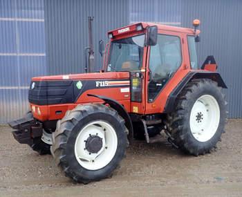 salg af Fiat F115 traktor