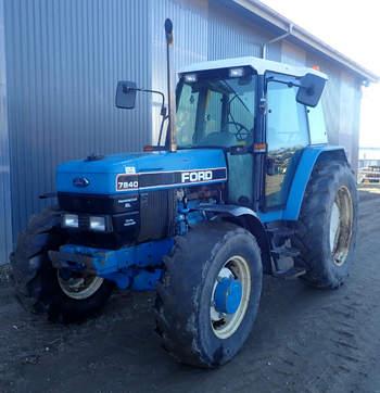 salg af Ford 7840 traktor
