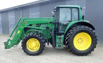 salg af John Deere 6150 M traktor