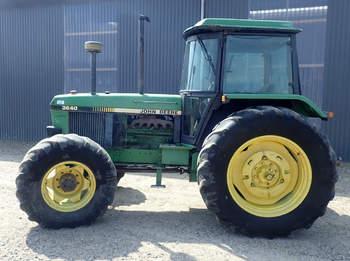 salg af John Deere 3640 traktor