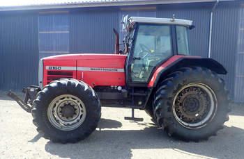 salg af Massey Ferguson 8160 traktor