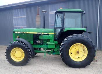 salg af John Deere 4650 traktor