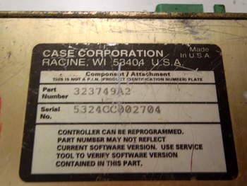 salg af ECU Case MX 270 - Transmission