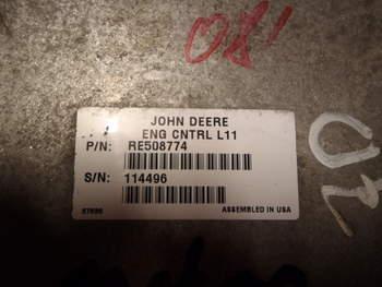 salg af ECU John Deere 7920