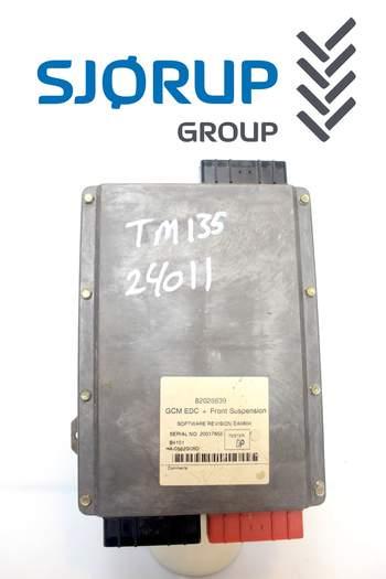 salg af ECU New Holland TM 135 GCM EDC+Front sus