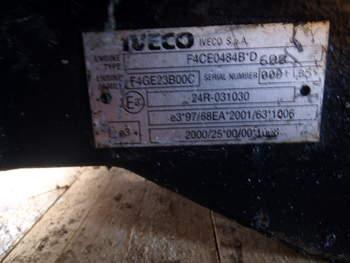salg af Motor New Holland TS110A/100A/MXU110